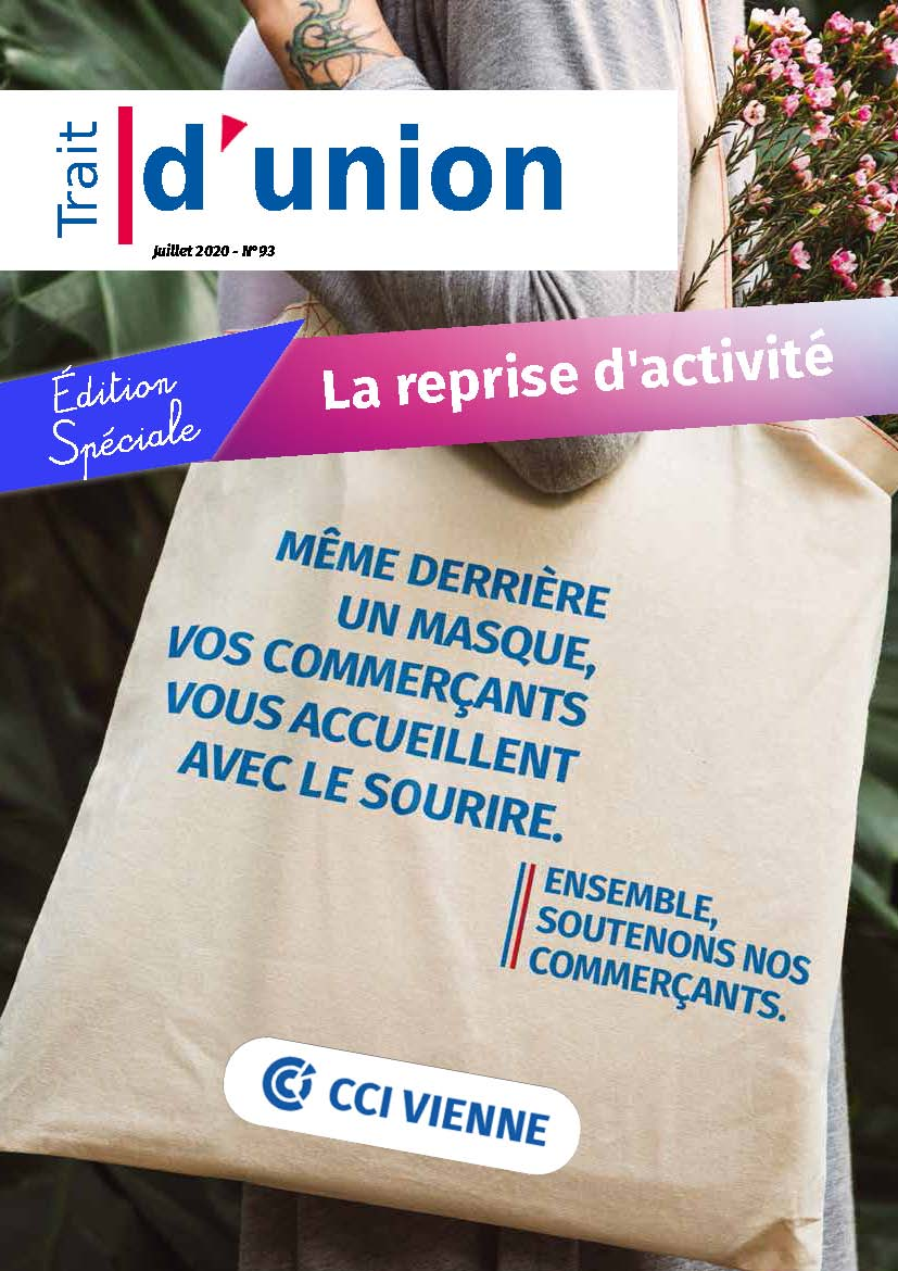 Trait d'Union le magazine de la CCI Vienne